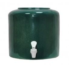 Керамічний диспенсер для води «Мармур зелений»