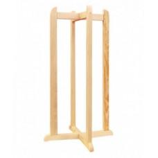 Підставка для бутлів SVP дерев'яна хрестова висока